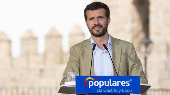 """Casado apela a """"la unidad del centro derecha para recuperar el rumbo de España"""