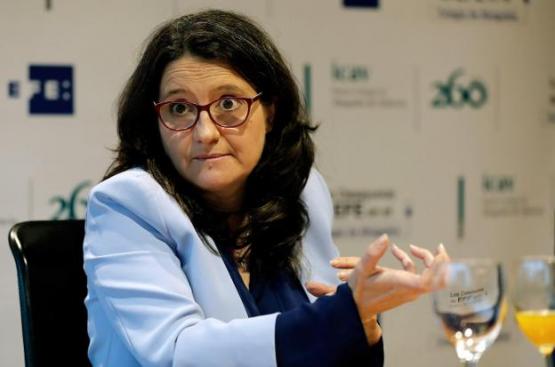 Oltra, partidaria de eliminar la sedición para liberar a los presos catalanes