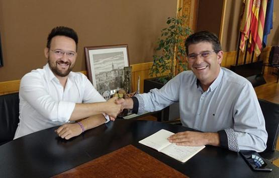 Los alcaldes de Ontinyent y l'Ollería trabajan en la creación de un Grupo de Municipios Industriales de La Vall d'Albaida