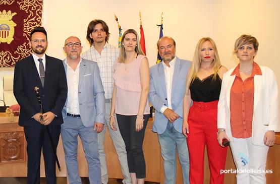 El equipo de Gobierno del Ayuntamiento de L'Olleria dona parte de sus retribuciones