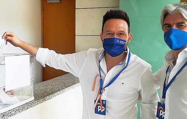 Ramón Vidal formará parte del PP provincial.